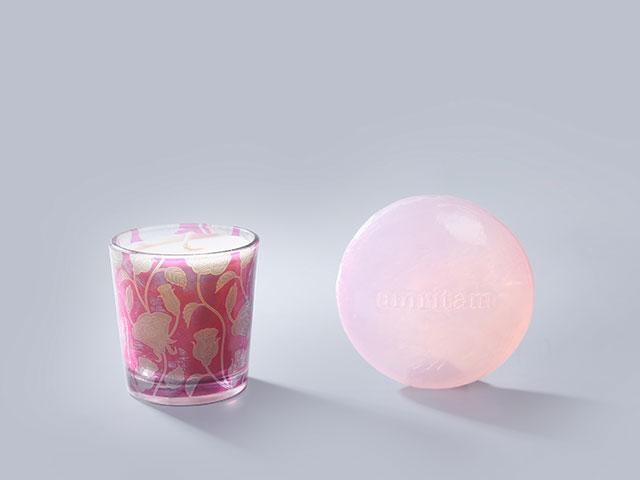 天然玫瑰花香皂 香薰蜡烛礼盒|野兽派